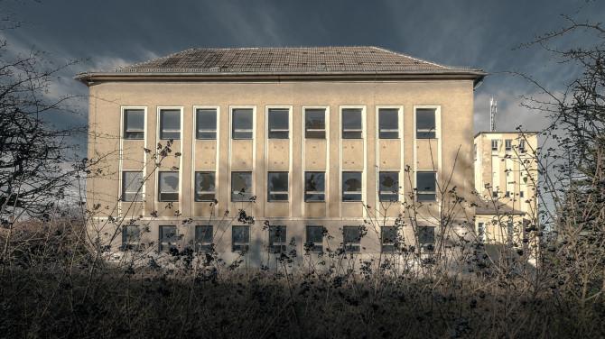 Eliteinternat Ballenstedt Kaserne © Bernd Wonde