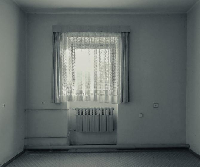 Eliteinternat Ballenstedt Fenstergardine © Bernd Wonde