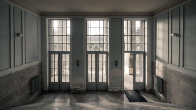 Eliteinternat Ballenstedt Eingang innen © Bernd Wonde