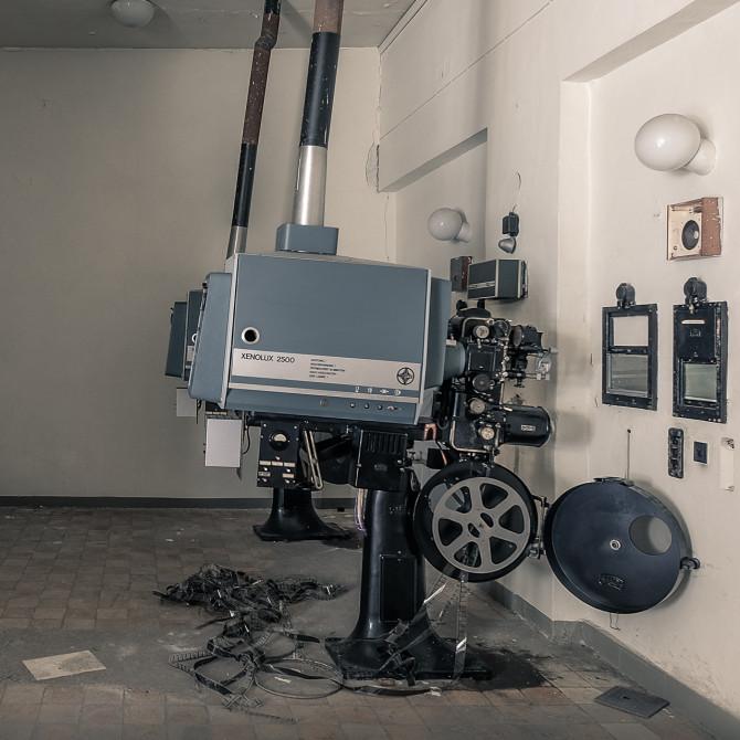 Eliteinternat Ballenstedt Filmprojektor © Bernd Wonde
