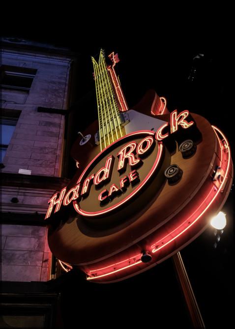 Nashville Broadway Leuchtreklame © Bernd Wonde