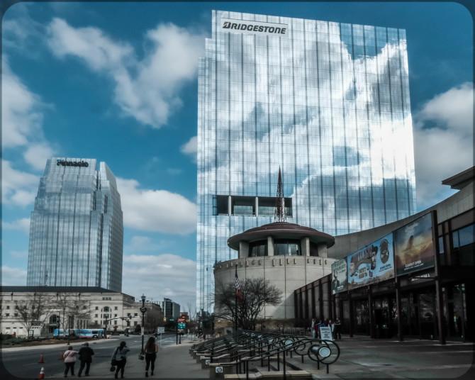 Nashville Skyscrapper © Bernd Wonde