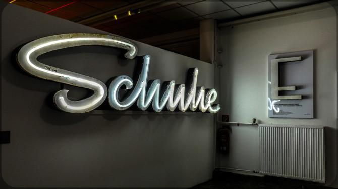 Buchstabenmuseum Berlin Wandaufnahme © Bernd Wonde