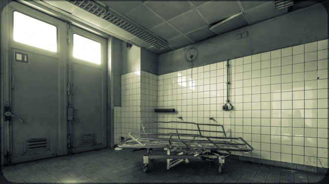 Stasikrankenhaus Berlin-Buch © Bernd Wonde