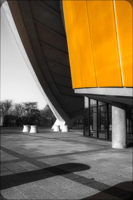 Haus der Kulturen der Welt Außenstütze I© Bernd Wonde