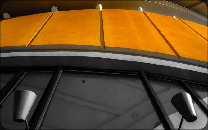 Haus der Kulturen der Welt außen Detail II© Bernd Wonde