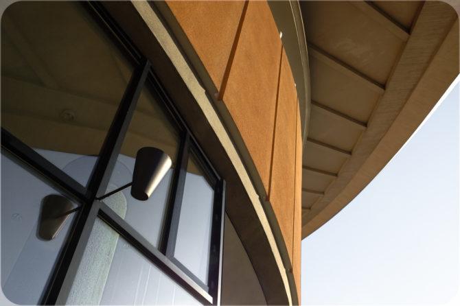 Haus der Kulturen der Welt außen Detail II © Bernd Wonde