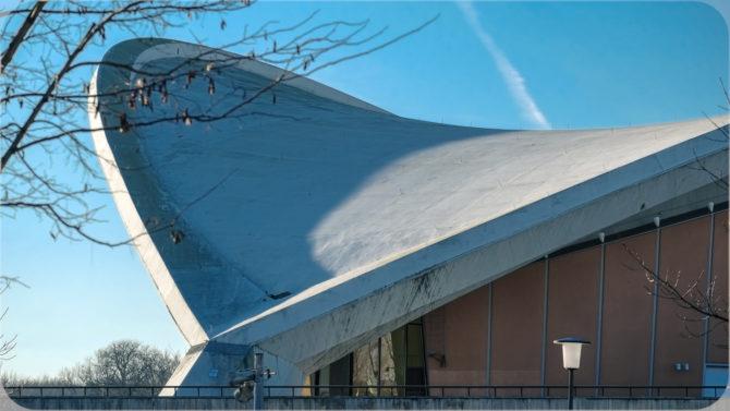Haus der Kulturen der Welt Dach © Bernd Wonde