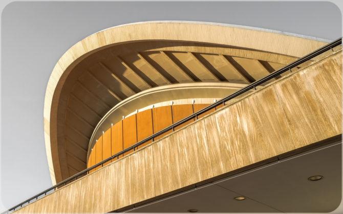 Haus der Kulturen der Welt Dachansicht I © Bernd Wonde