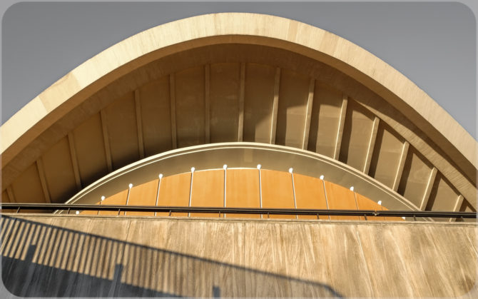 Haus der Kulturen der Welt Dachansicht II © Bernd Wonde
