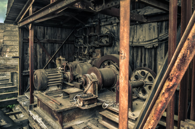 Kalkwerk Rüdersdorf Generator © Bernd Wonde