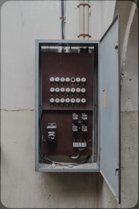 JVA-Köpenick Sicherungskasten © Bernd Wonde