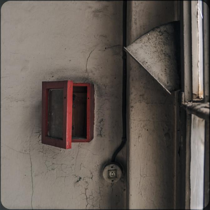 JVA-Köpenick Schlüsselkasten an Wand © Bernd Wonde