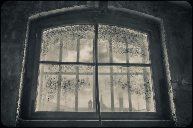 JVA-Köpenick Fenster vergittert © Bernd Wonde