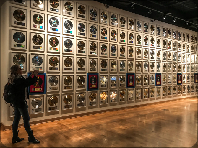 Nashville Musical of Fame Goldene Schallplatten © Bernd Wonde