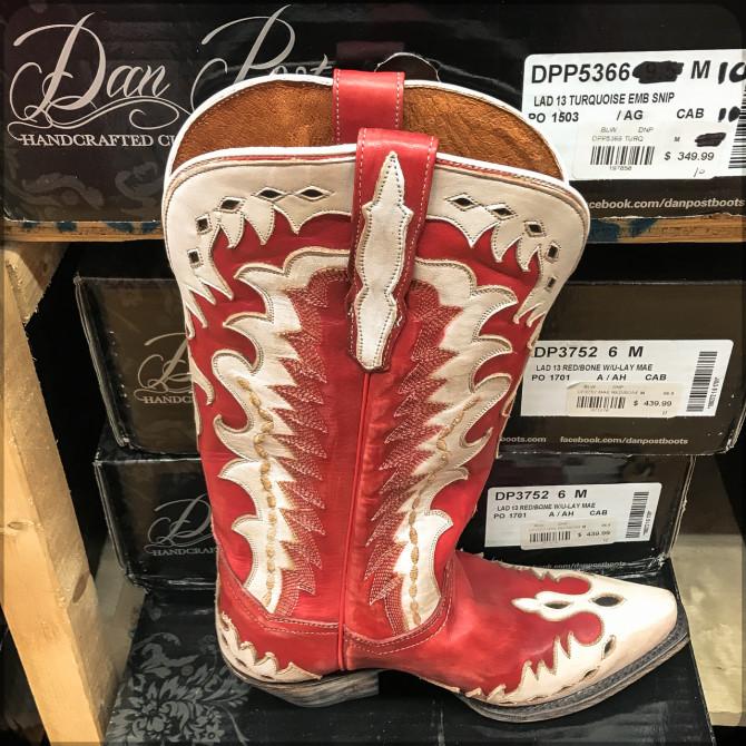 Nashville Cowboy-Stiefel Schaufenster © Bernd Wonde
