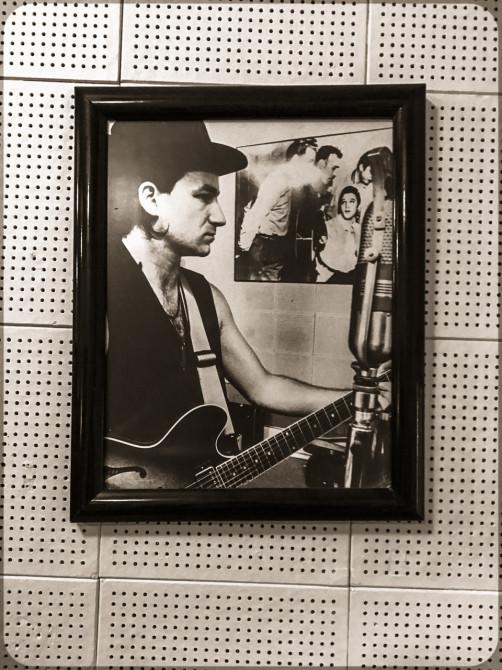 Memphis Sun Studio Bono-Portrait © Bernd Wonde