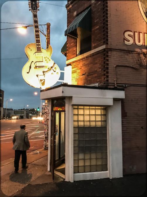 Memphis Sun Studio Eingang © Bernd Wonde
