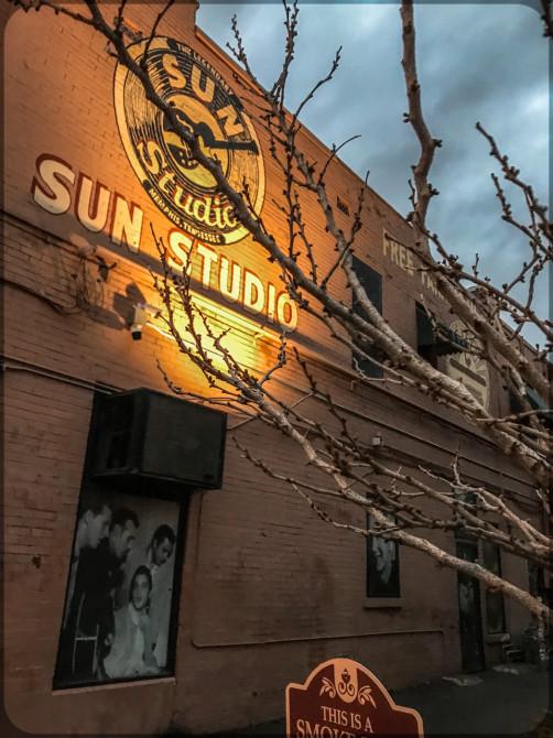 Memphis Sun Studio Aussenwerbung © Bernd Wonde