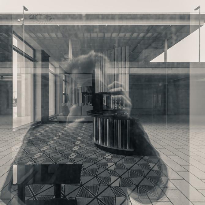 Flughafen BER Selbstportrait © Bernd Wonde